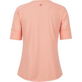 Marmot Cynthia Camisa Manga Corta Mujer, coral pink